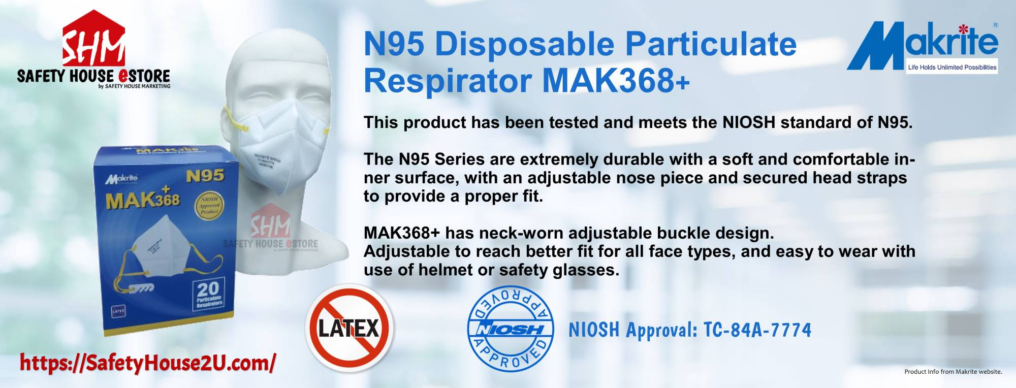 https://safetyhouse2u.com/makrite-368-n95-particulate-respirators-niosh-approved-products