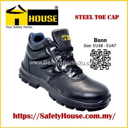 HOUSE BONN SAFETY SHOES C/W STEEL TOE CAP & STEEL MID SOLE