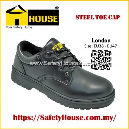HOUSE LONDON SAFETY SHOES C/W STEEL TOE CAP & STEEL MID SOLE