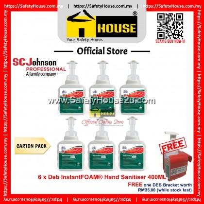 Deb InstantFOAM® Hand Sanitiser 400ML